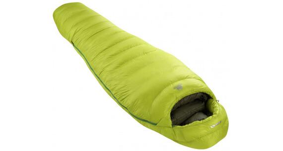 Mountain Equipment Helium 800 Slepping Bag XL Green Shoots